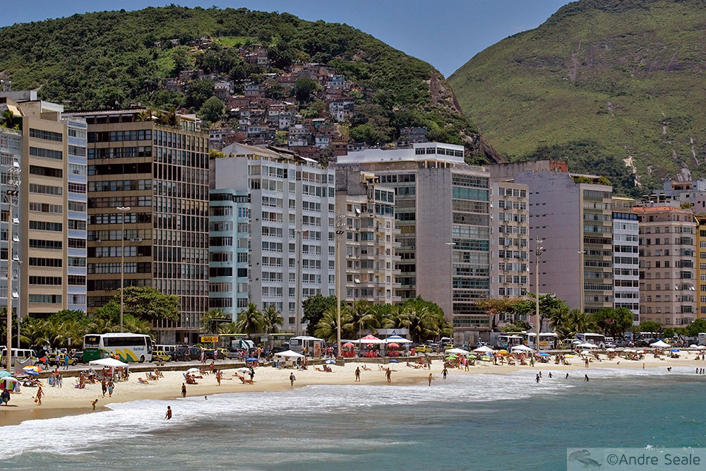 PAVV 45 - Praia de Copacabana e morro do Pavão
