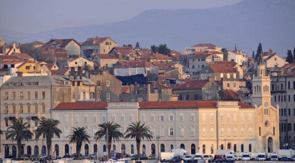 Nos mercados de rua de Split