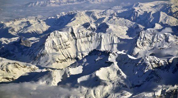Alpes vistos de cima