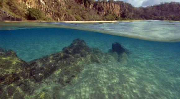 Sexta Sub: praia do Sancho