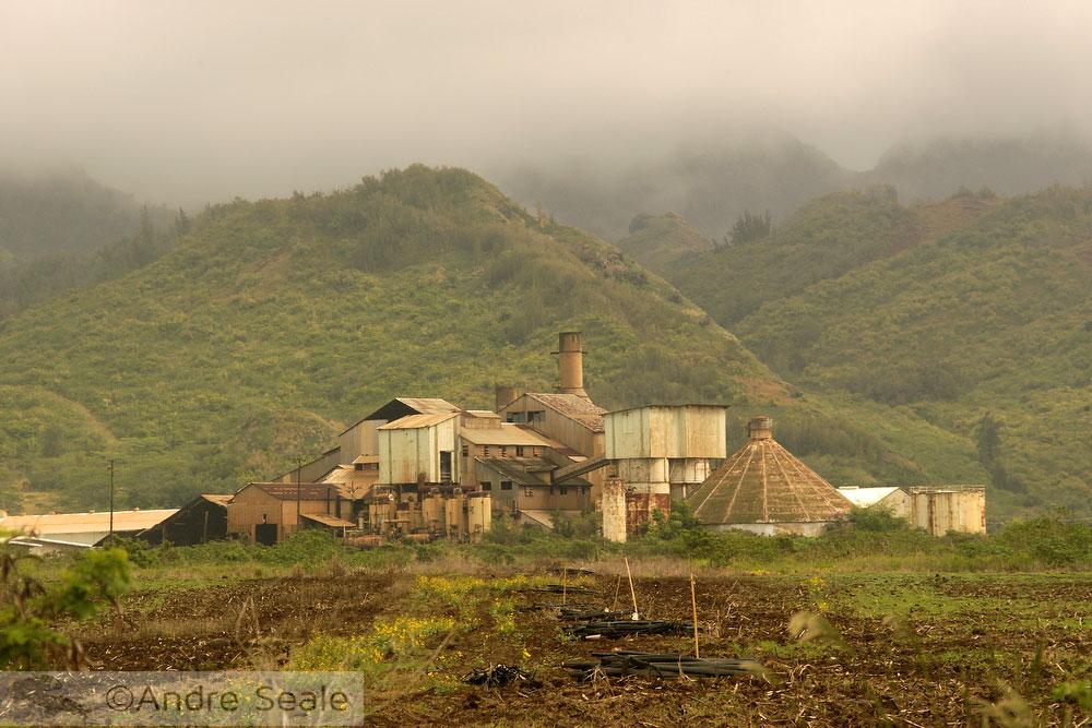 Caminhos havaianos - antiga usina de açúcar - Kauai
