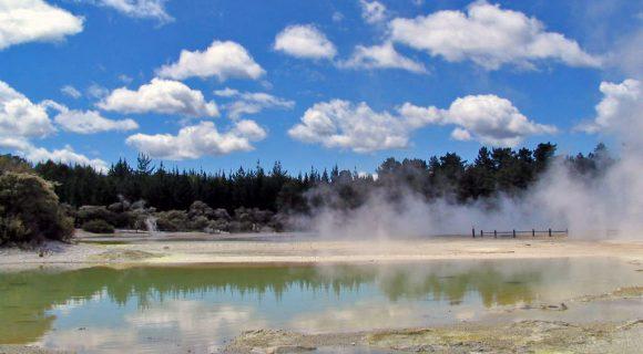 Minhas viagens prediletas – ano 1: Fervendo em Rotorua