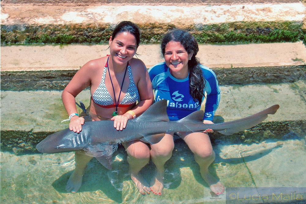 Blogueiros em Cancún - Sheila e Malla