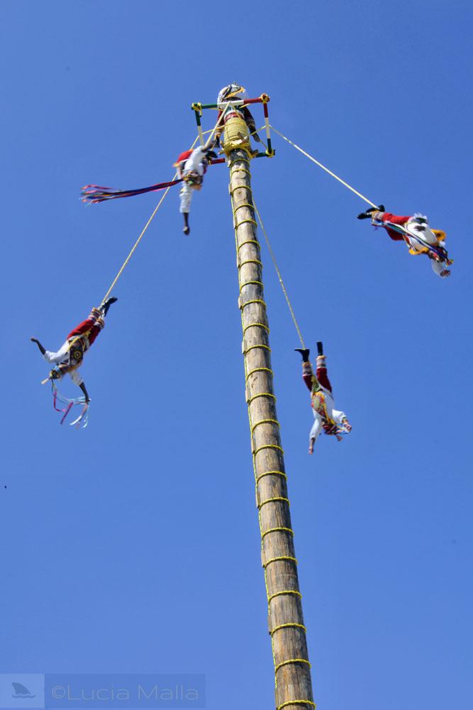 Ritual dos Voladores de Papantla - roteiro em Cancún - México