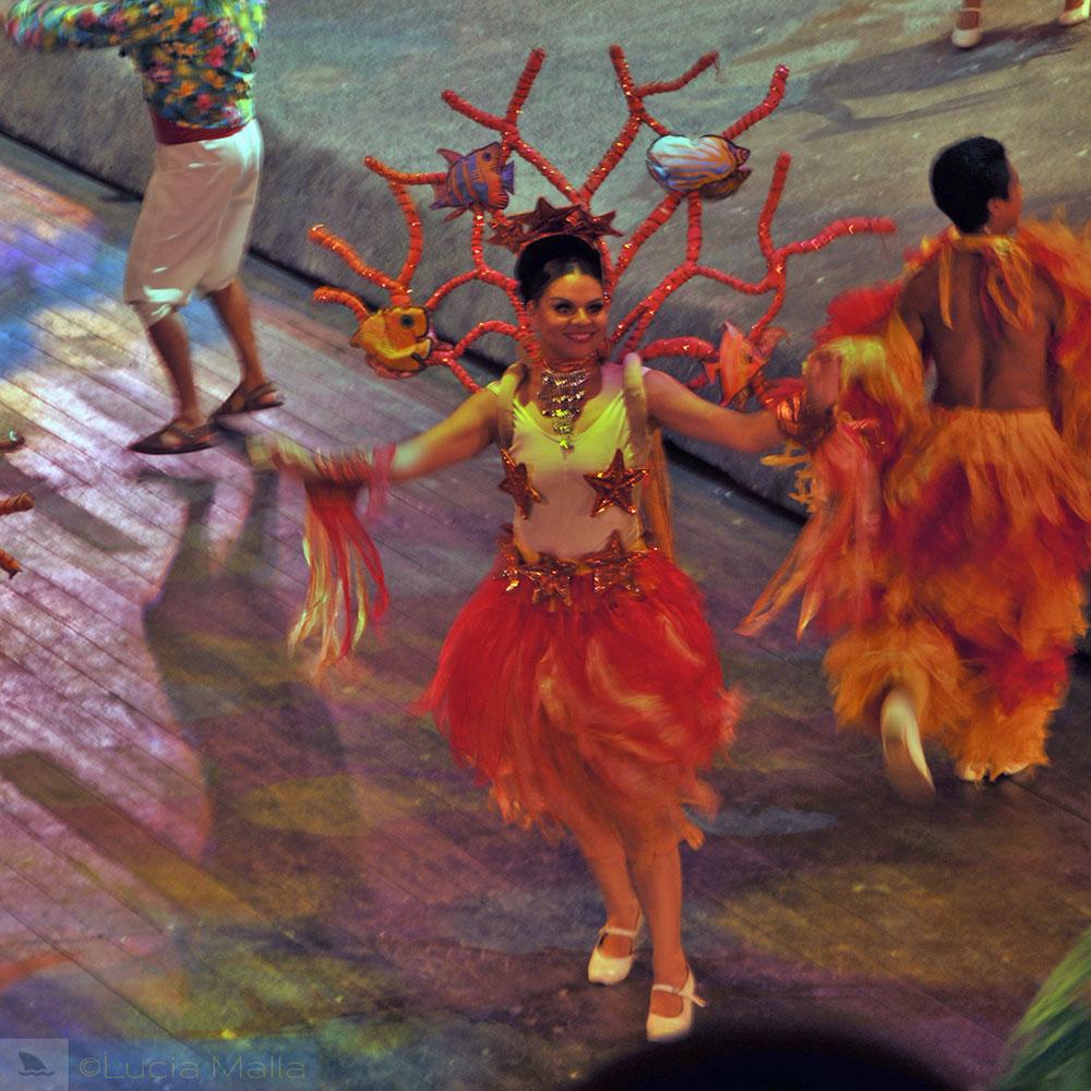 Show cultural sobre o México - Vera Cruz - roteiro em Cancún