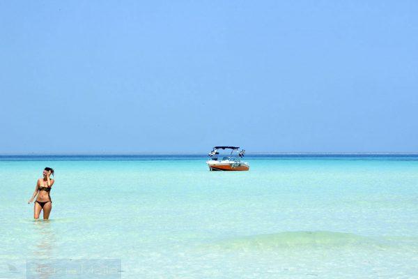 Mar de Isla Mujeres - México - Caribe