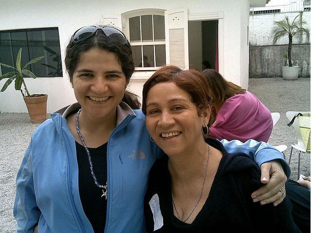 Lucia Malla e Denise Rangel
