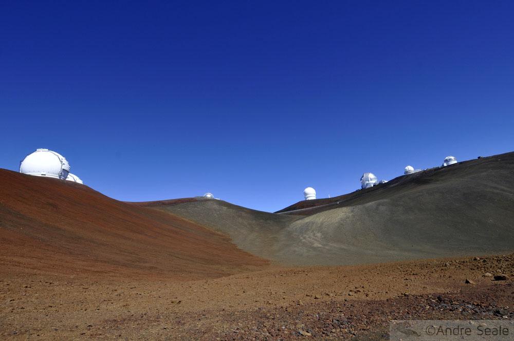 Telescópios no Mauna Kea