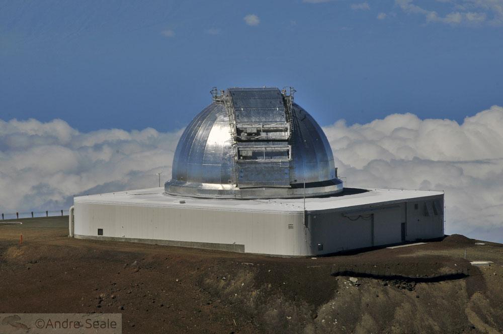 No topo do Mauna Kea