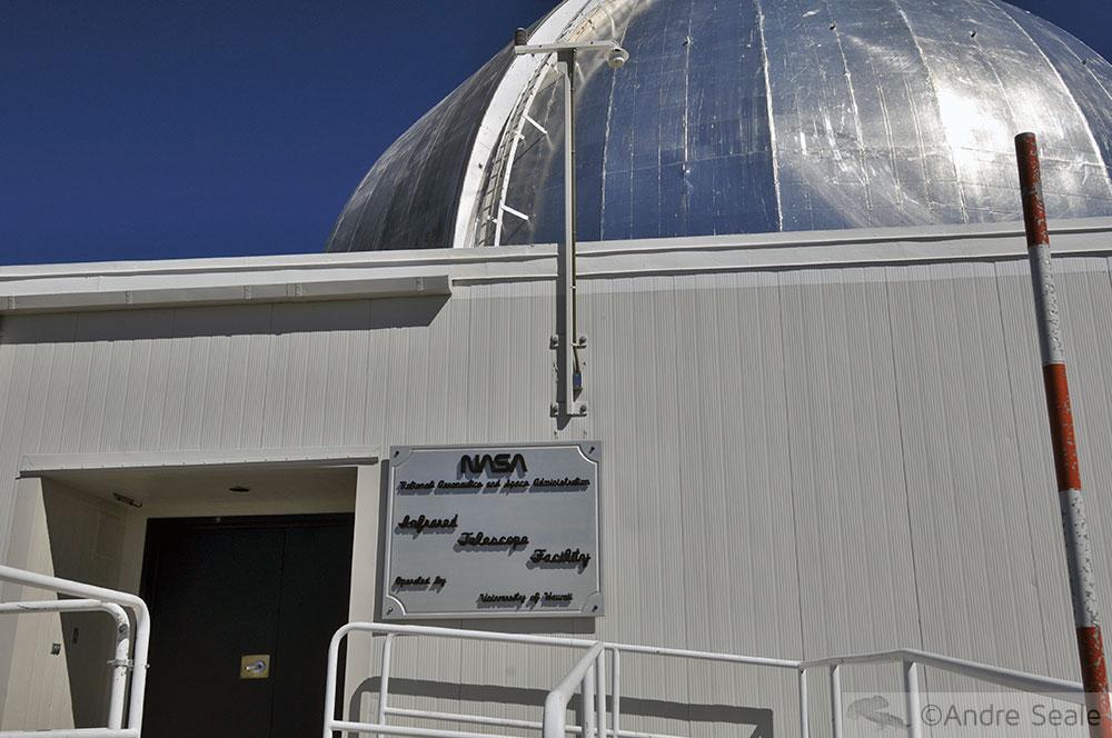 Telescópio da NASA - Mauna Kea - Big Island - Havaí