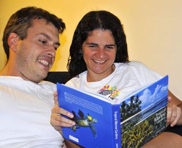 André e Lucia - Jardins Marinhos Tropicais