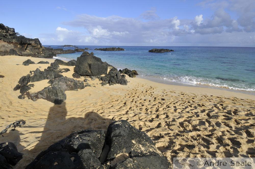 Canto esquerdo de Waimea Bay - Havaí