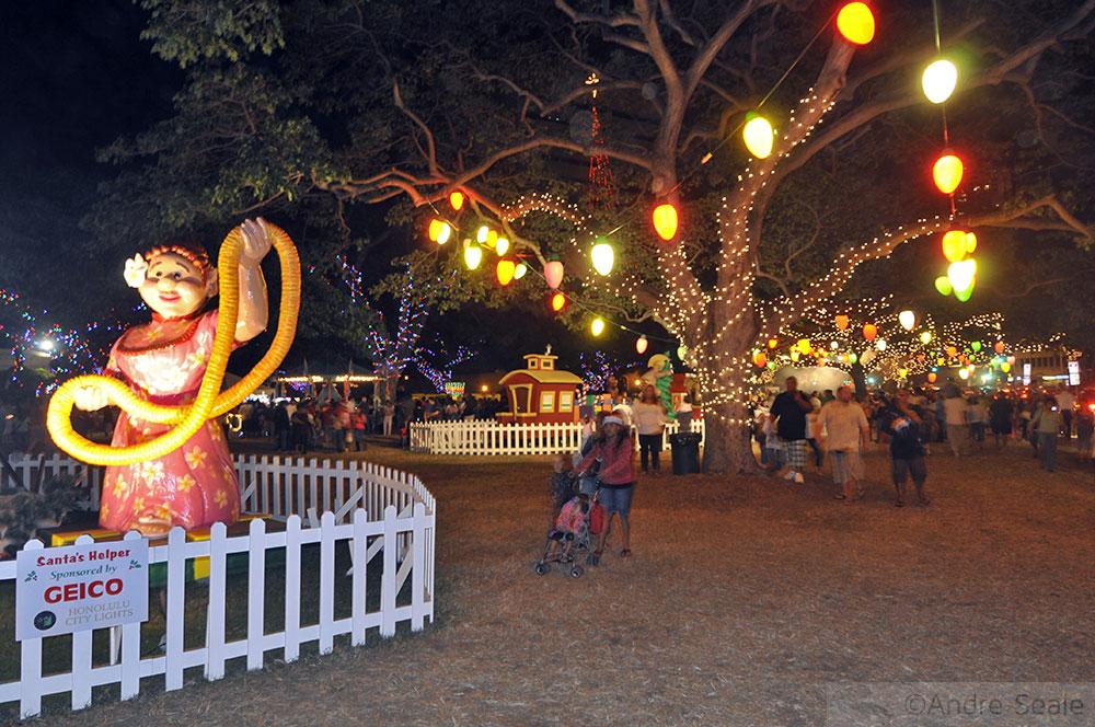 Luzes de Natal - Honolulu