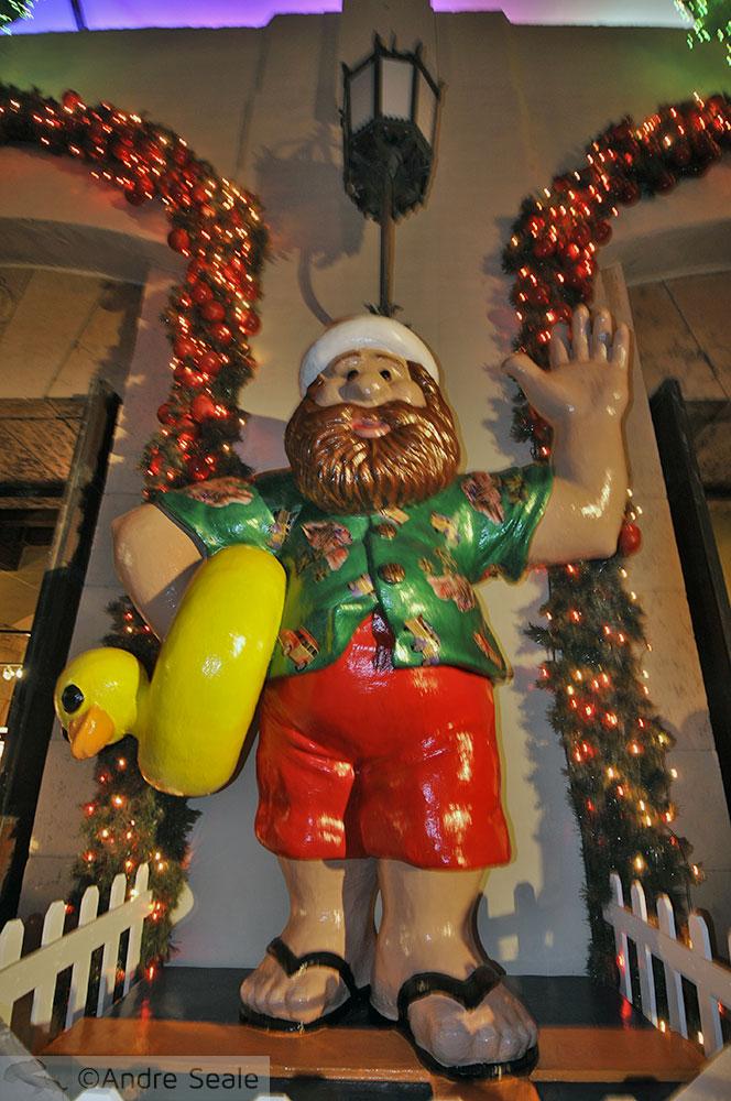Elfo de Natal no Havaí