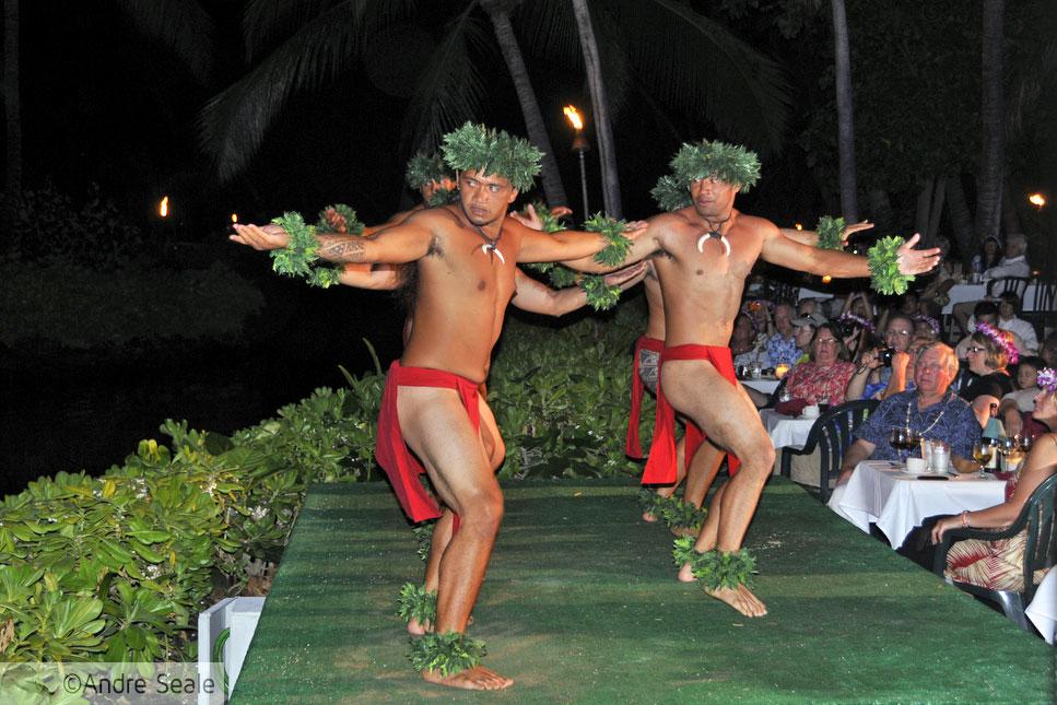 4 dias na Big Island - luau em Waikoloa