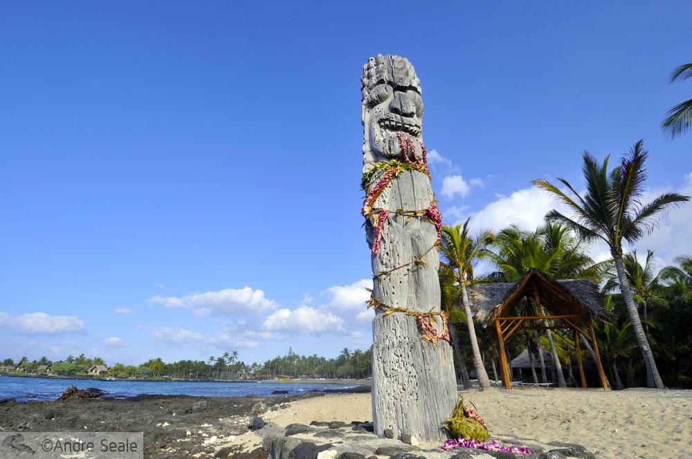 4 dias na Big Island - Totem havaiano