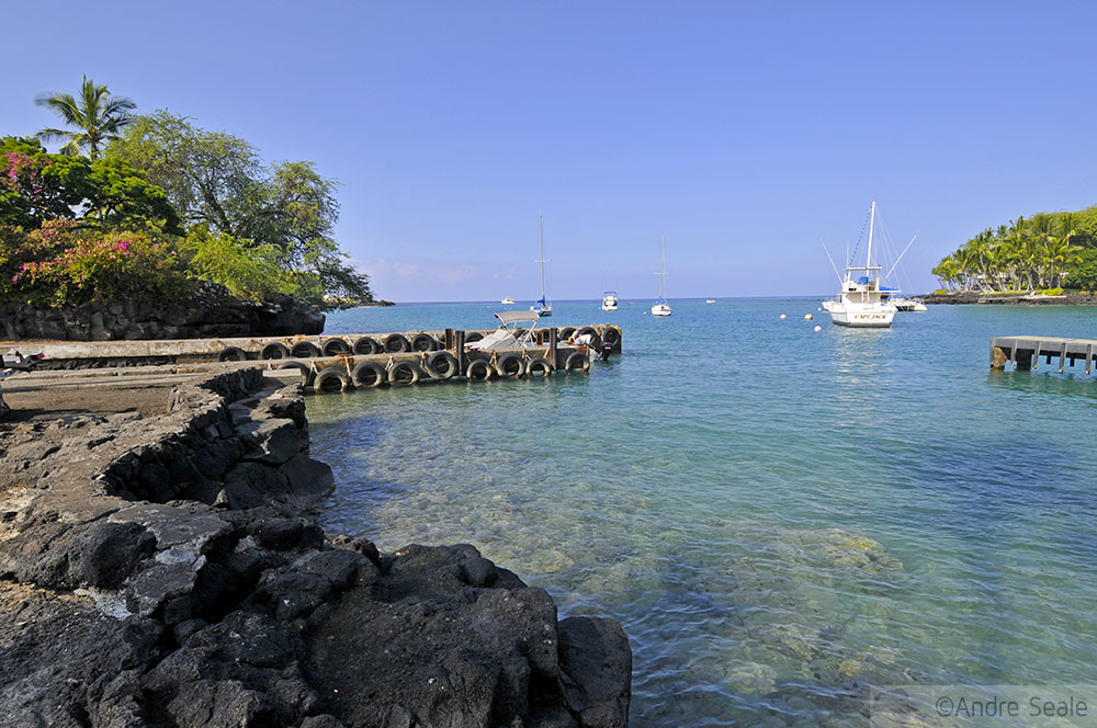 Roteiro 4 dias na Big Island - Keauhou Bay