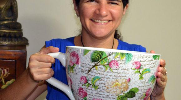 Chá de camomila acalma os nervos