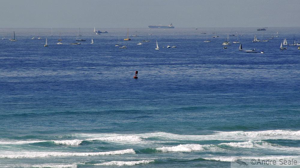 Barcos em Honolulu