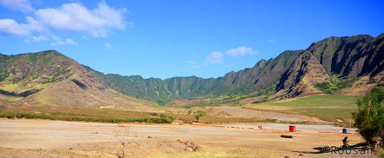 4 dias em Oahu, Havaí - vale de Makua