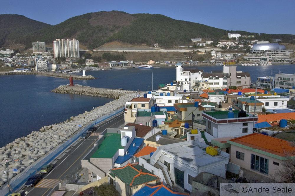Roteiro em Geoje - Coréia do Sul