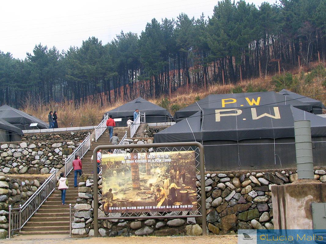 Campo de Prisioneiros de Guerra de Geoje - Coréia do Sul