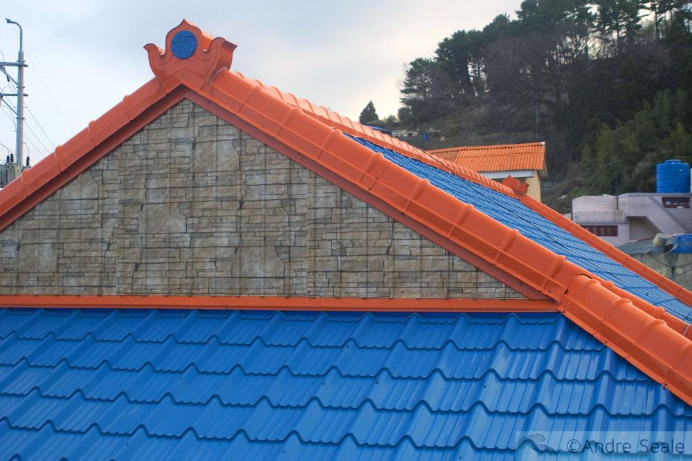 Telhados azuis - Geoje