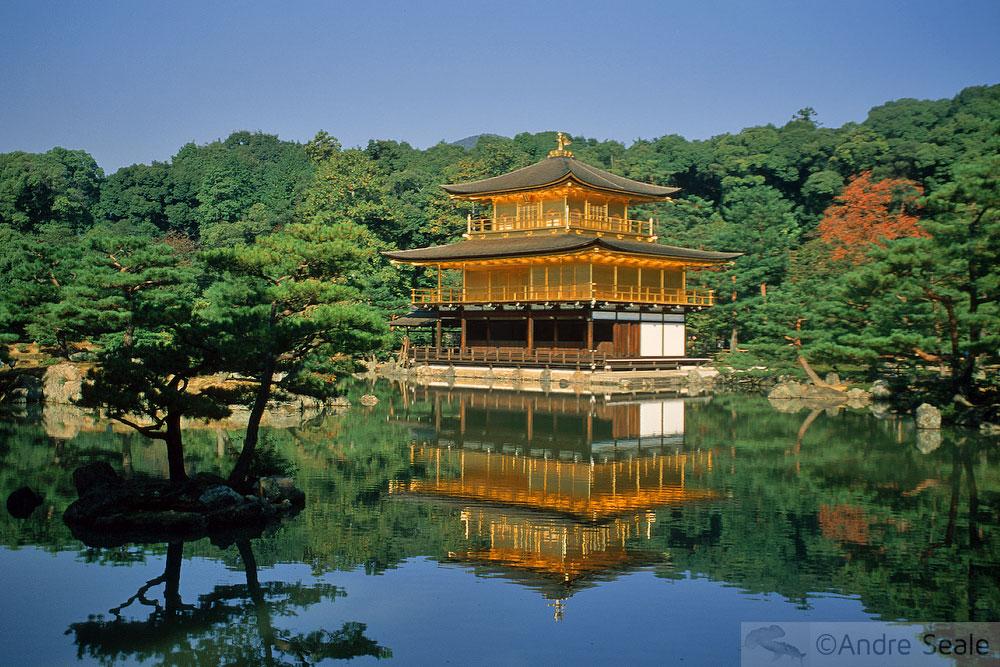 Pavilhão de Ouro em Kyoto - Japão