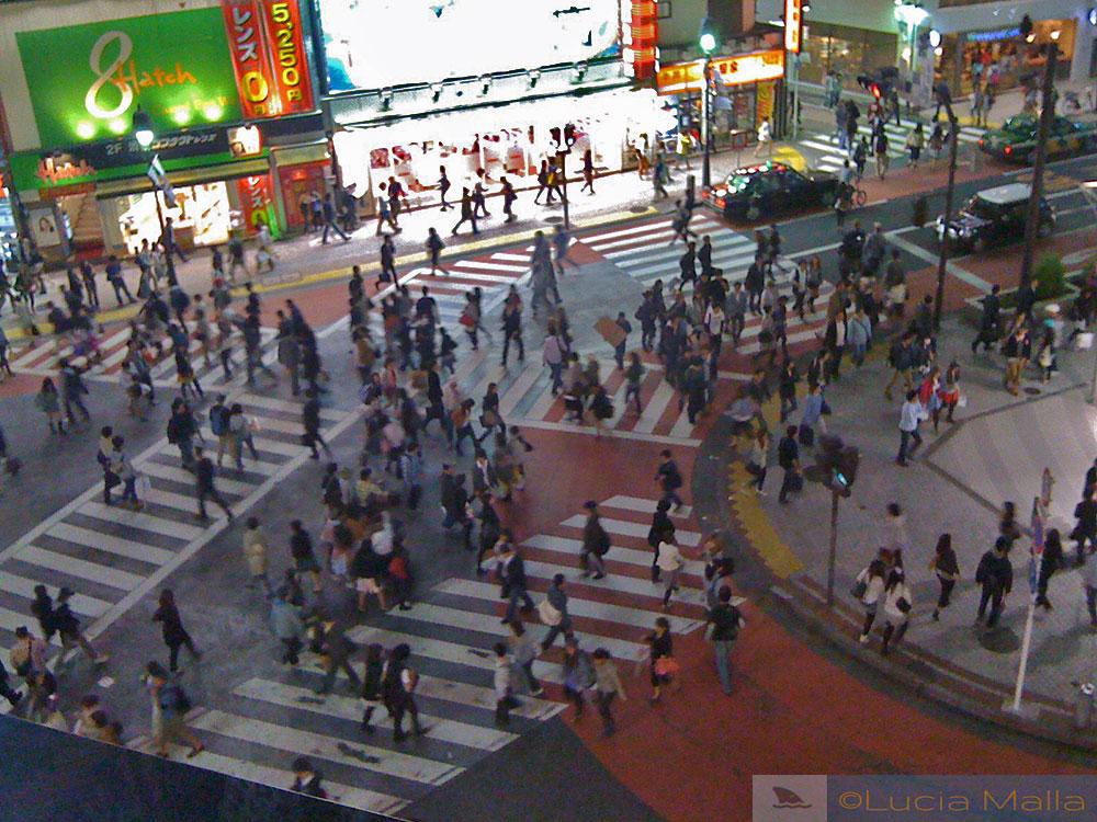 Cruzamento do Shibuya - Tóquio - Japão