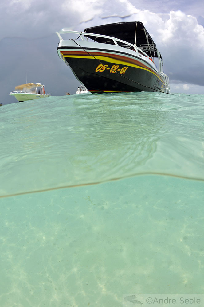Isla Mujeres - México - tempestade chegando