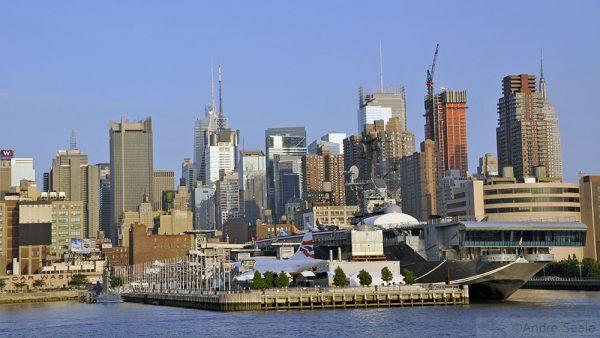 Uma volta em Nova York - Passeio de barco