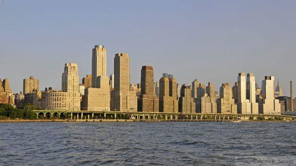 Uma volta em Nova York - East Side
