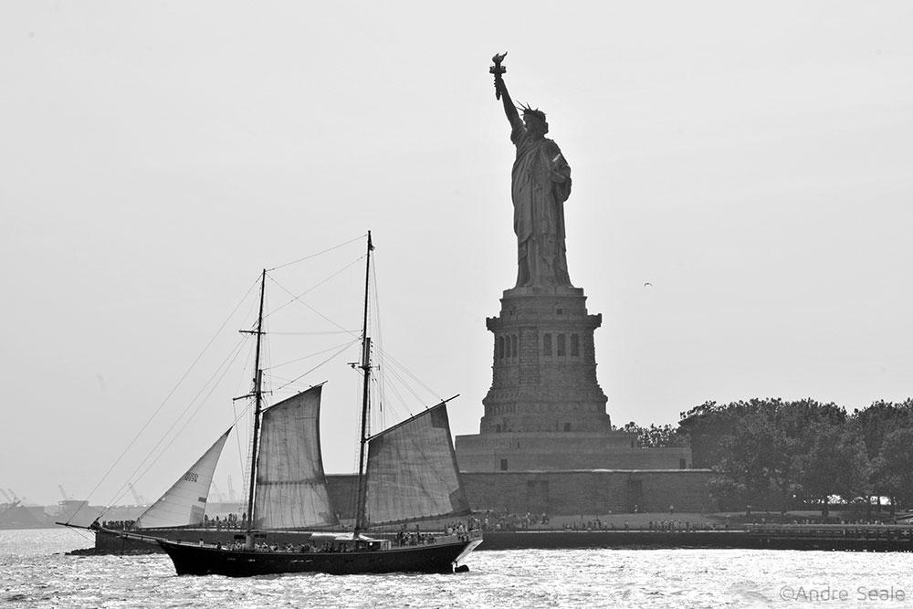 Uma volta em Nova York - Estátua da Liberdade