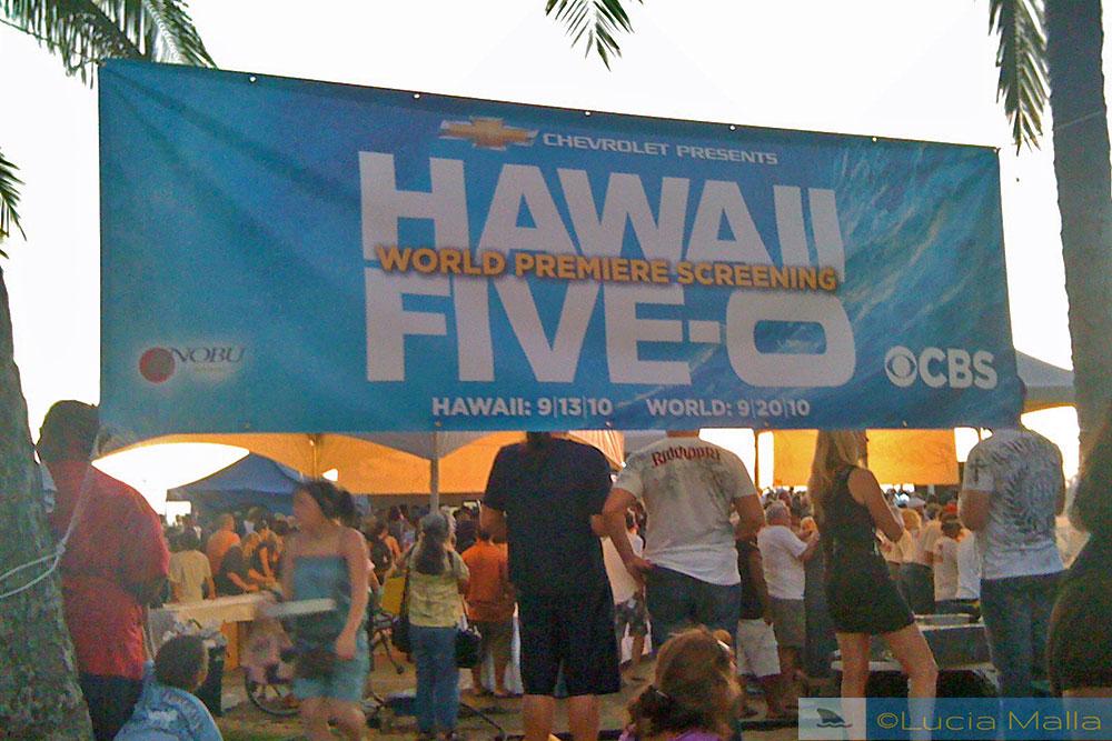 Premiere do seriado Hawaii 5-0
