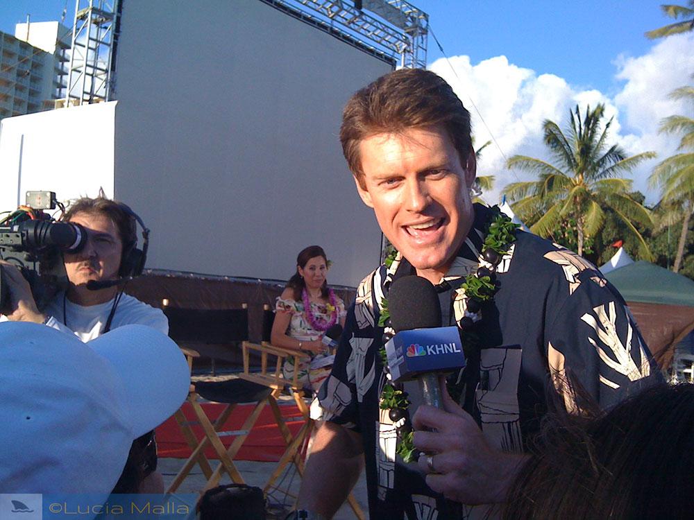 Keahi Tucker - Premiere de Hawaii 5-0