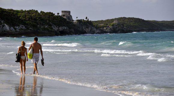 Tulum: uma praia de drift?