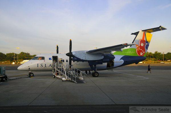 Avião da Island Air