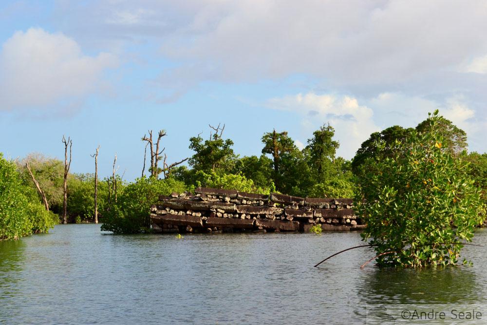 O segredo de Nan Madol - Micronésia - sítio arqueológico