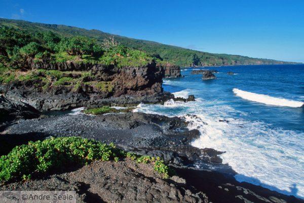 4 dias em Maui - costa de Hana