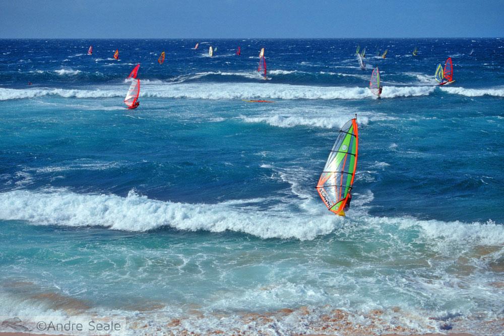Guia de Maui - windsurf em Hookipa