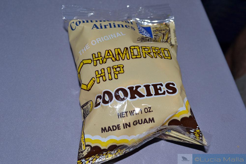 Pitada de chamorro - biscoito do avião
