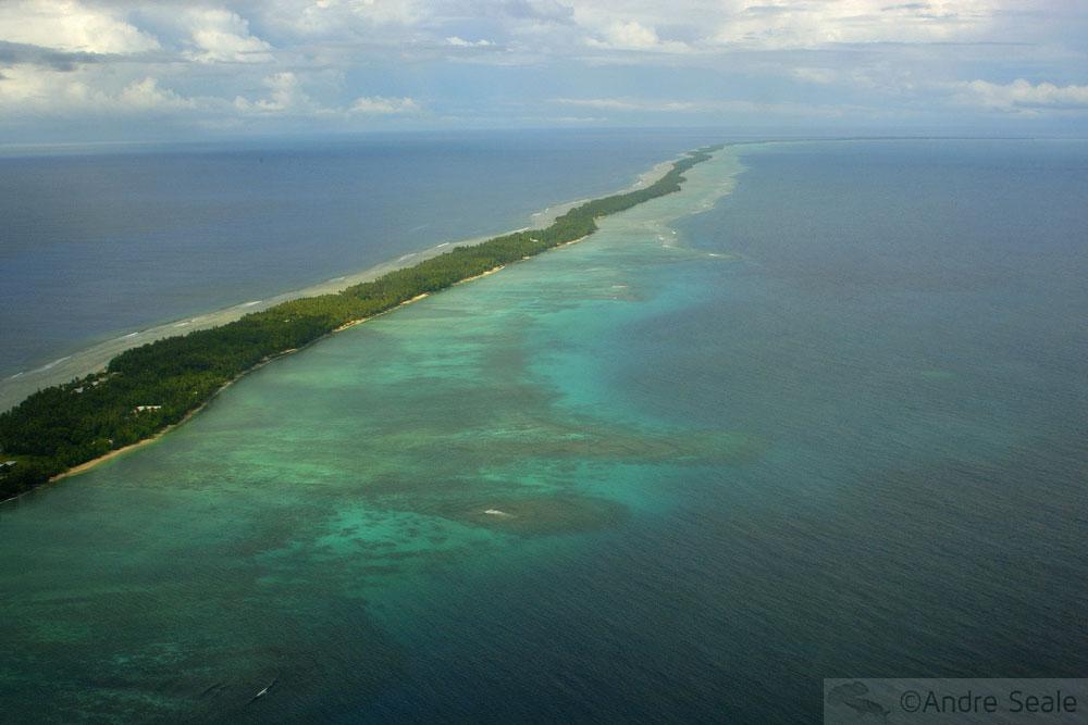 Atol das Ilhas Marshall - Micronésia