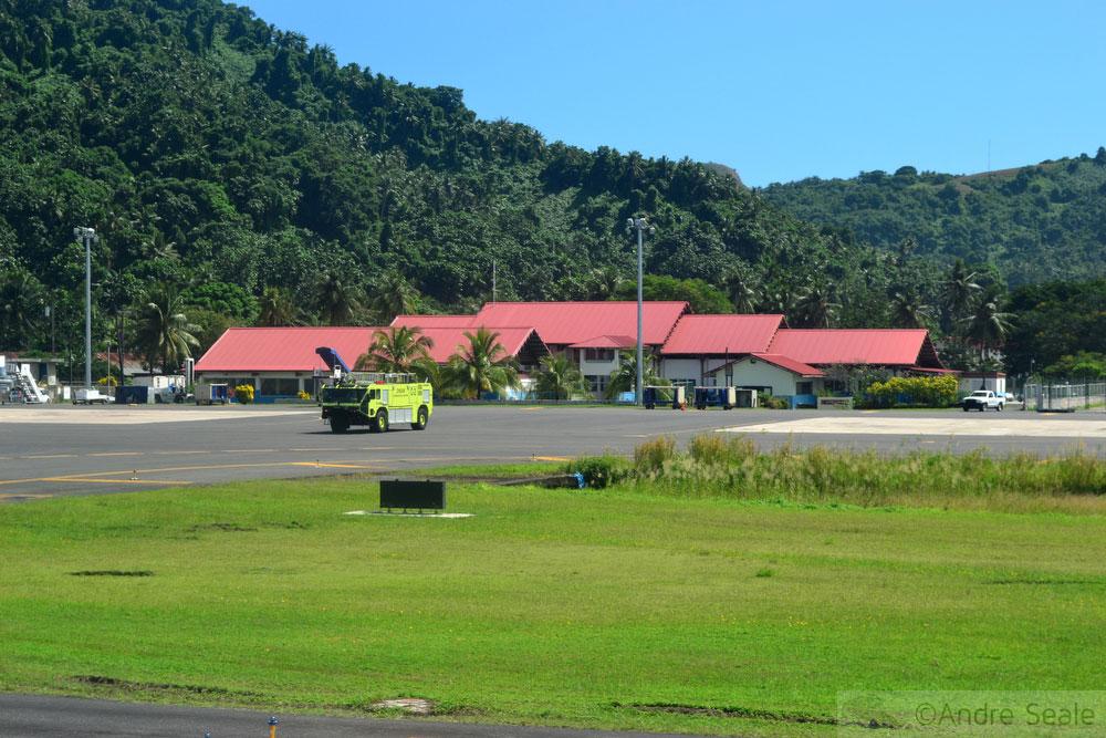 Aeroporto de Chuuk - Micronésia