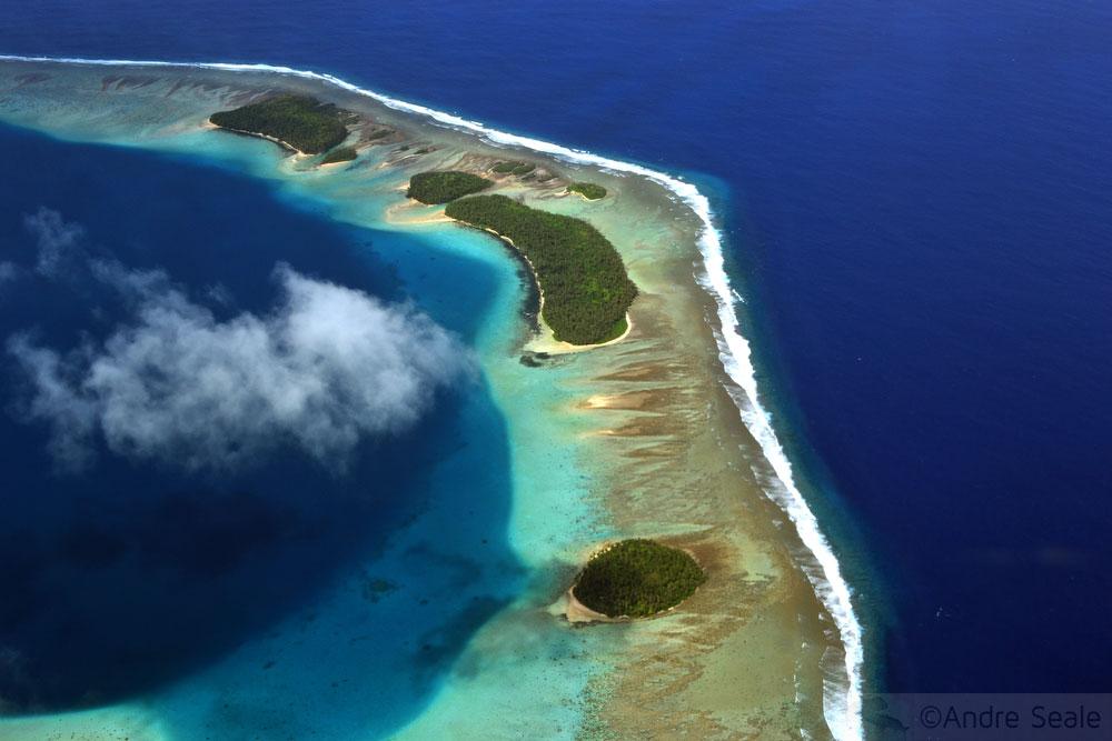Atóis das ilhas do Pacífico - Island Hopper