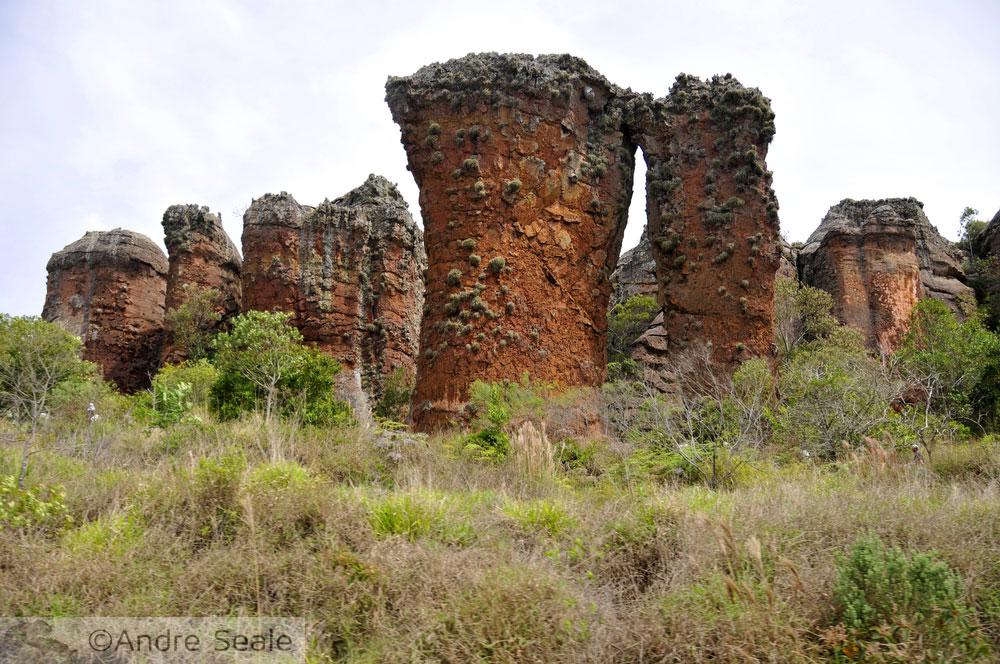 Parque Estadual de Vila Velha - formações rochosas