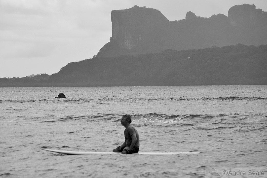 Surfe em Pohnpei - Palikir Pass - Micronésia