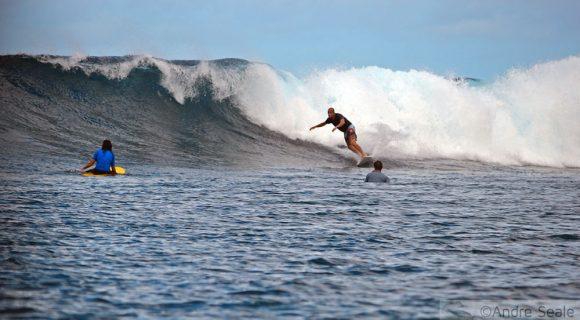 O surfe em Pohnpei