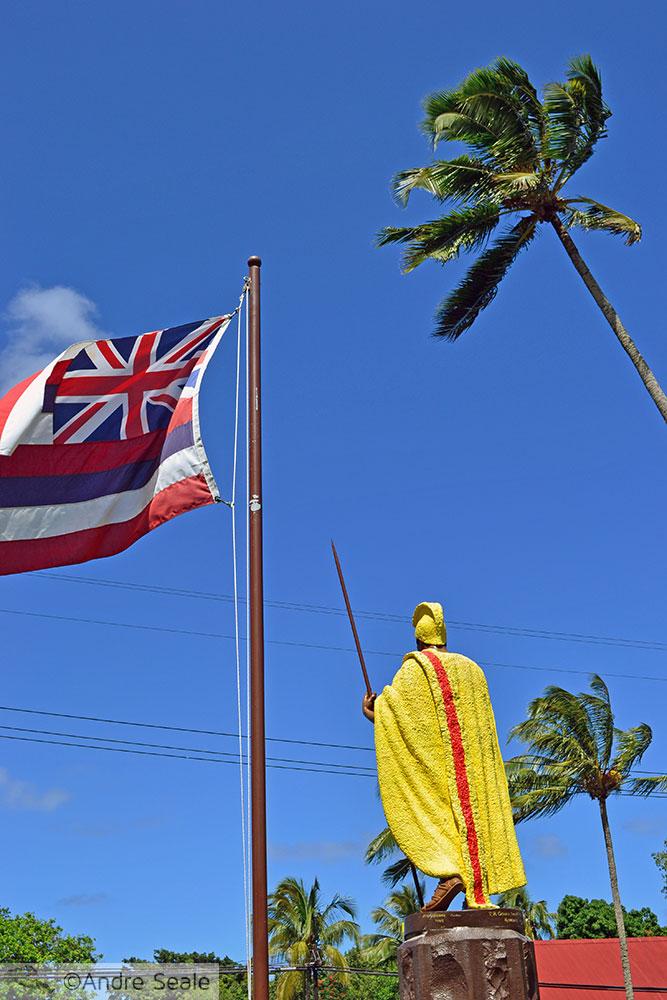 Estátuas do Kamehameha
