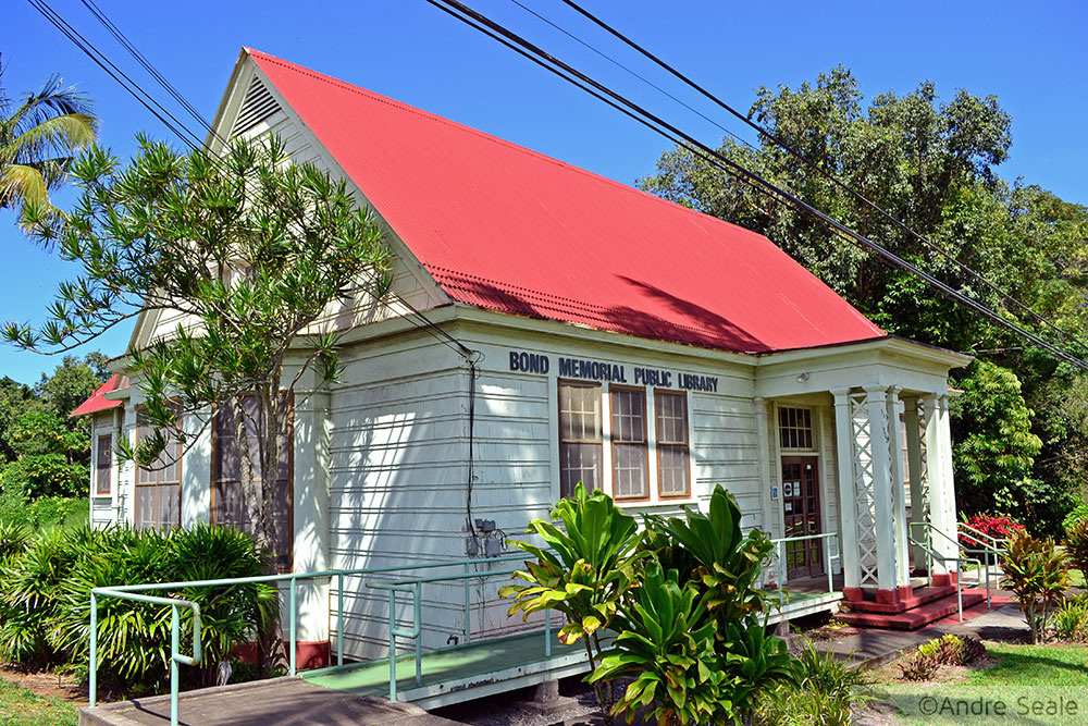 Biblioteca Pública - Kapa'au - Big Island - Havaí