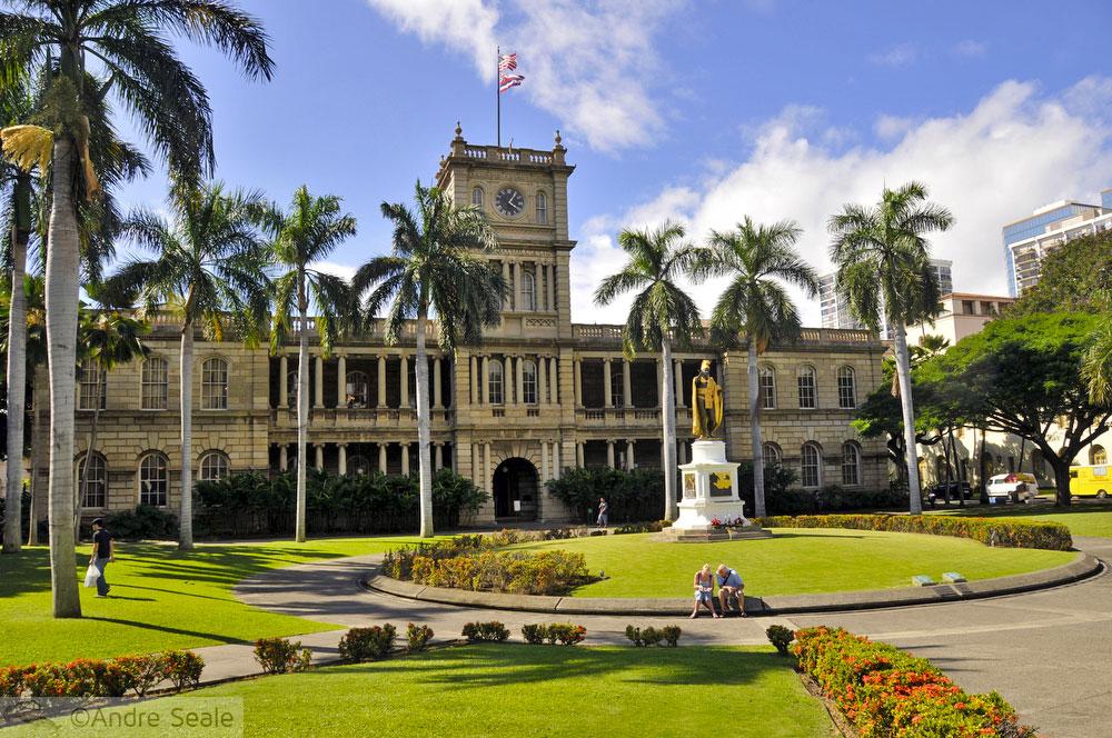Estátuas do rei Kamehameha I - Havaí